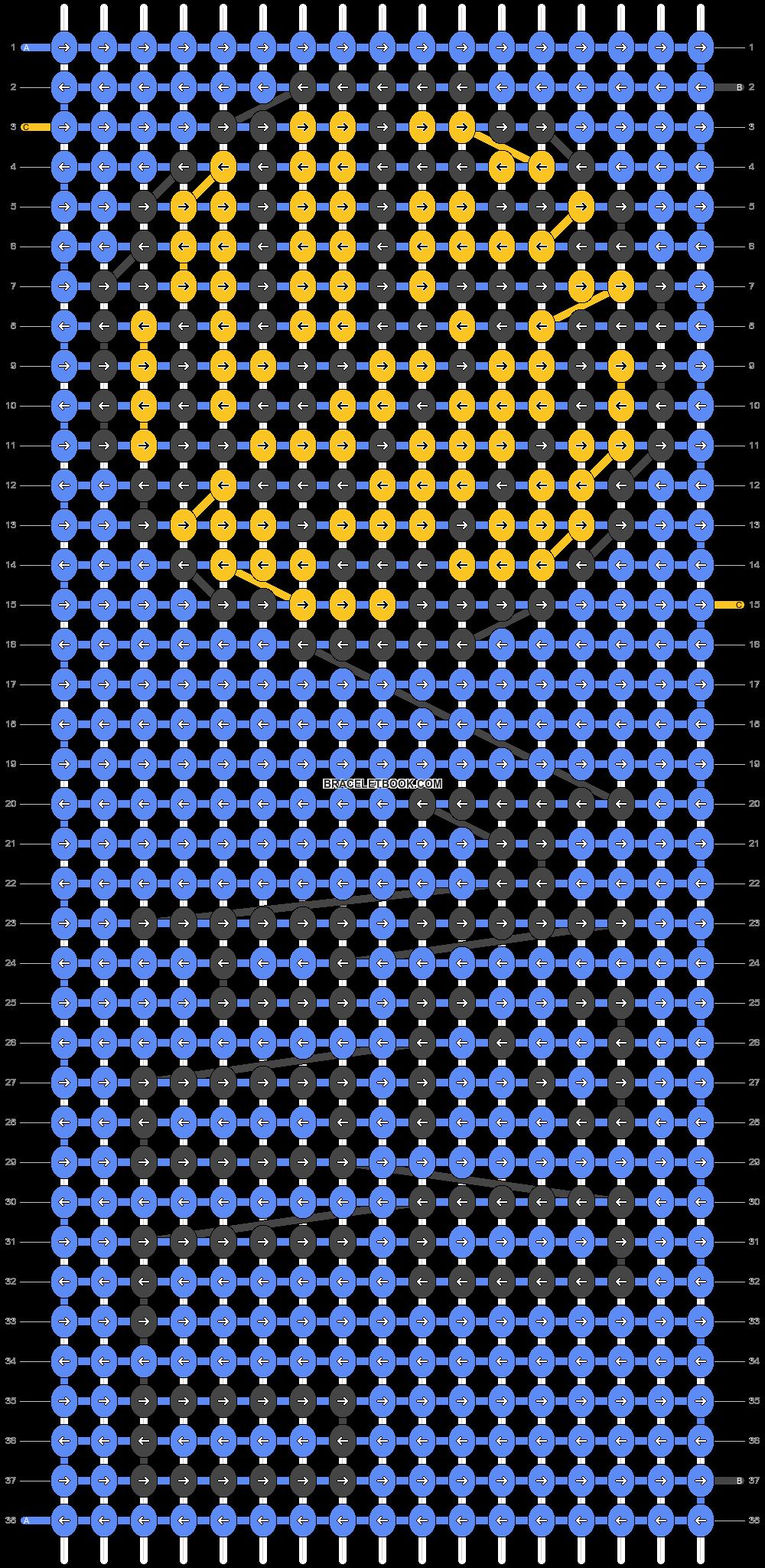 Alpha pattern #16257 pattern