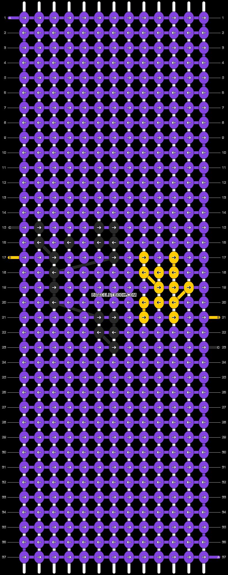 Alpha pattern #16270 pattern