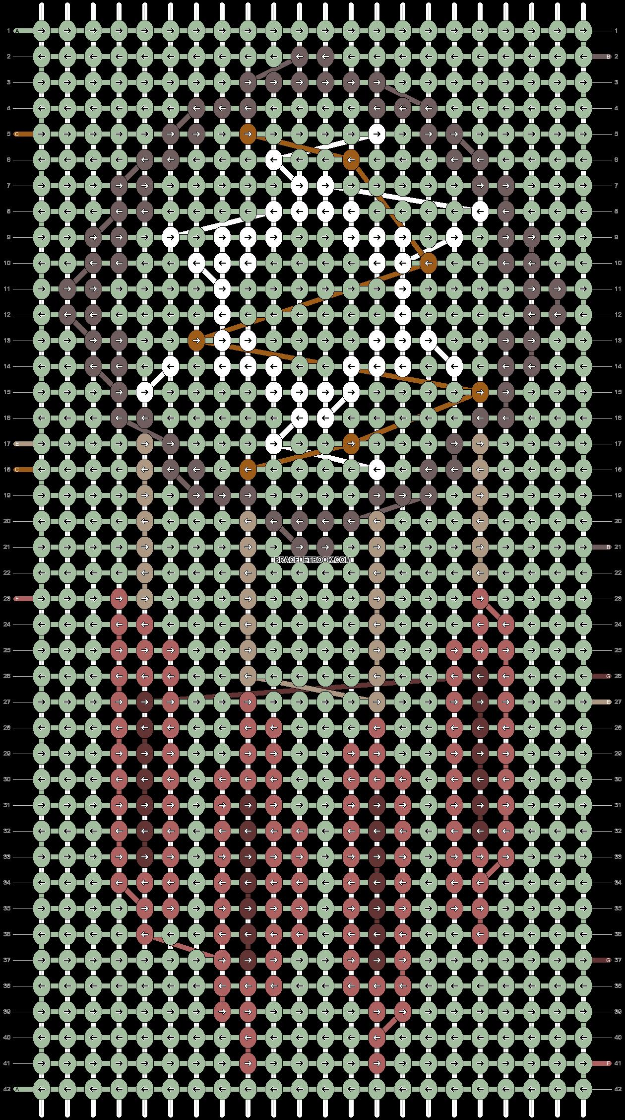 Alpha pattern #16278 pattern