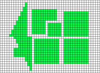Alpha pattern #16303