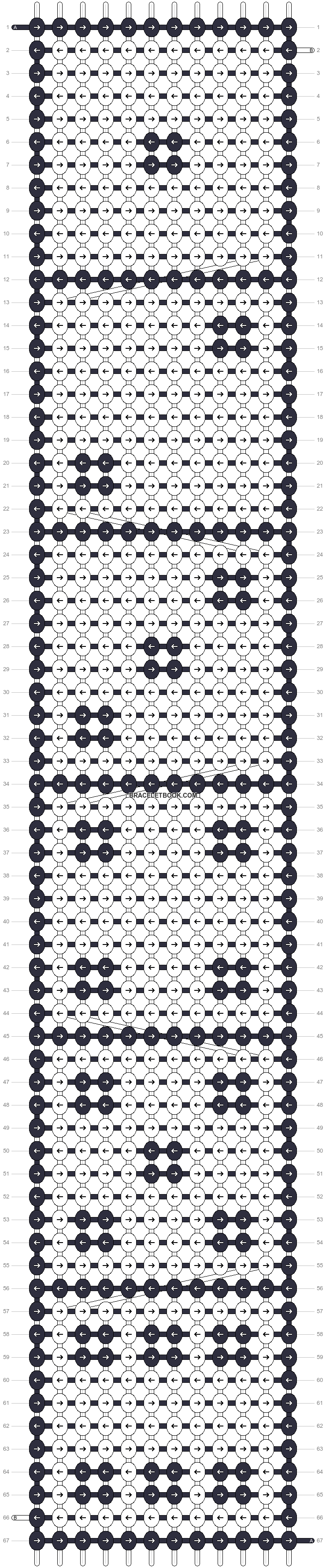 Alpha pattern #16309 pattern