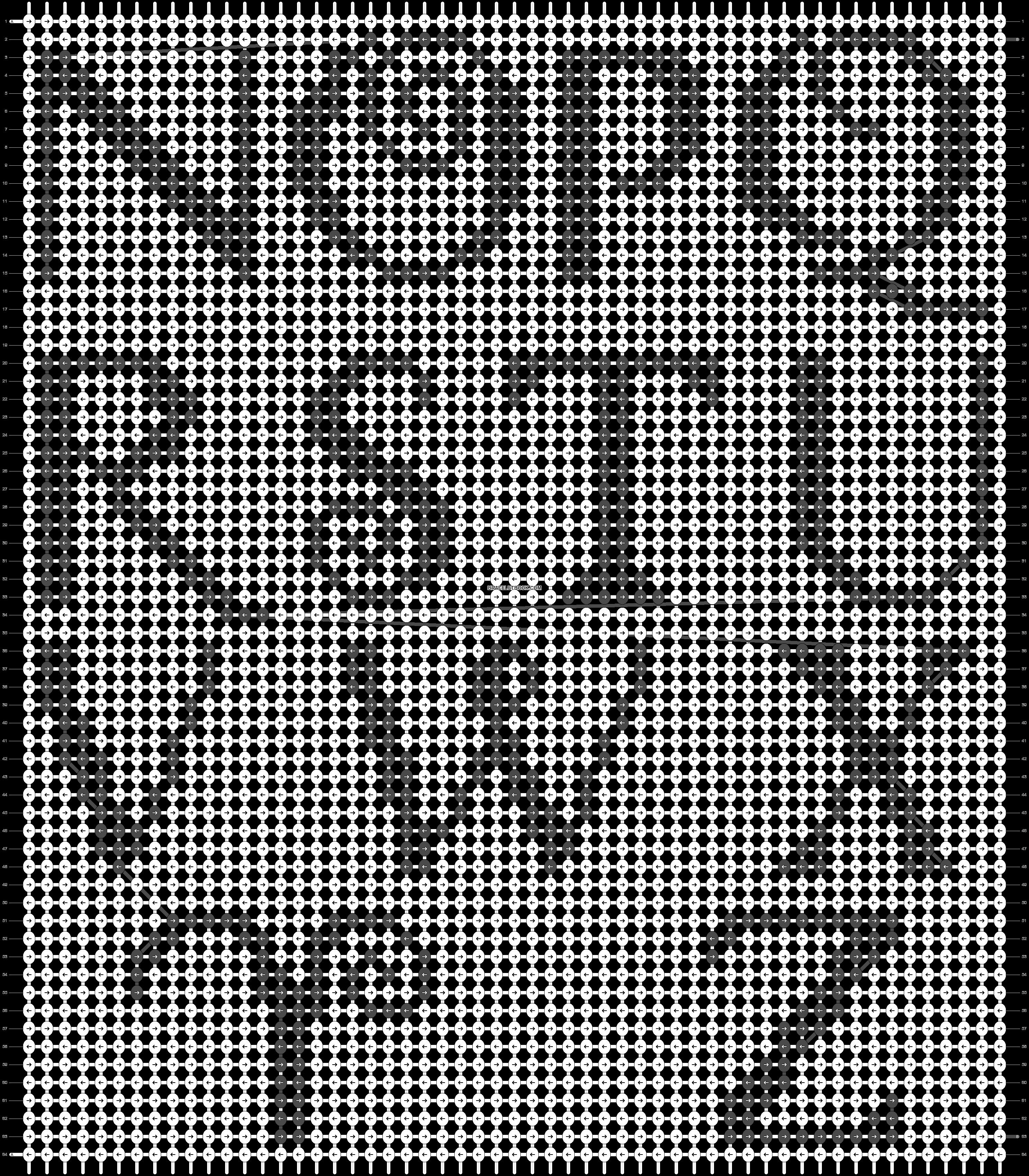 Alpha pattern #16345 pattern