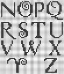 Alpha pattern #16345