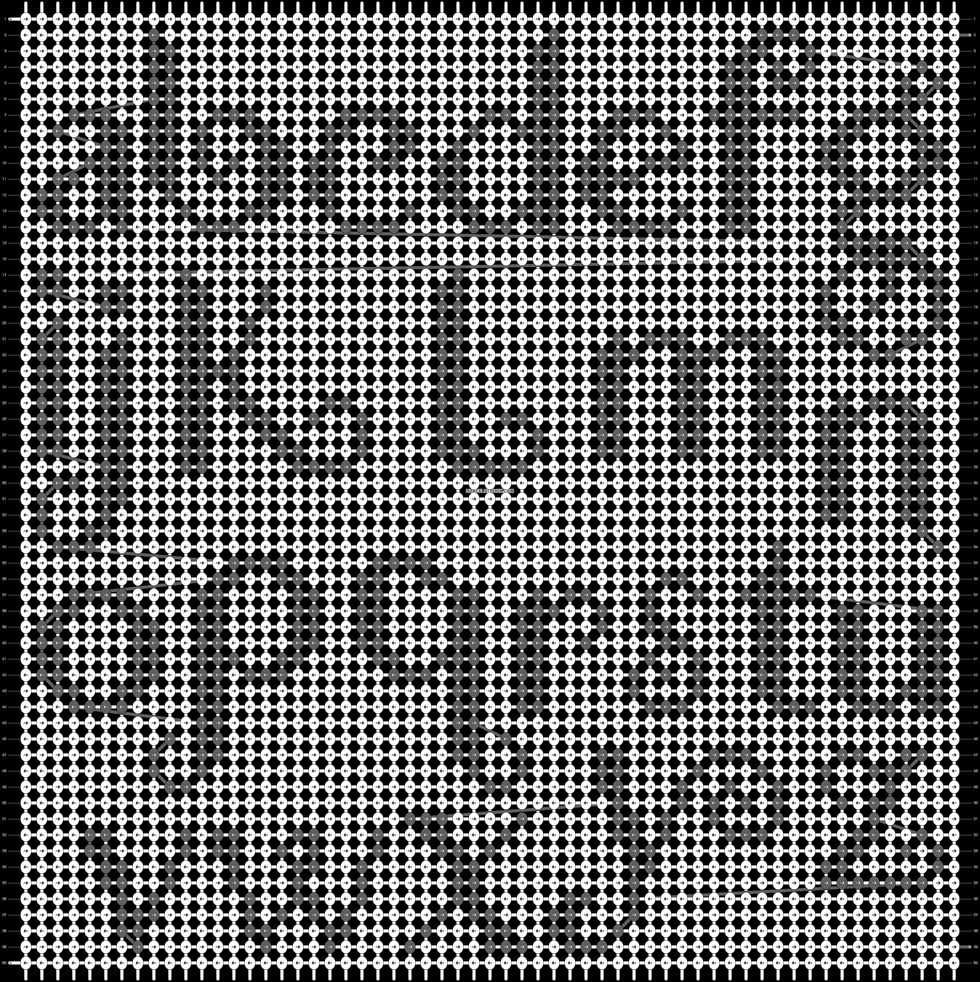Alpha pattern #16346 pattern