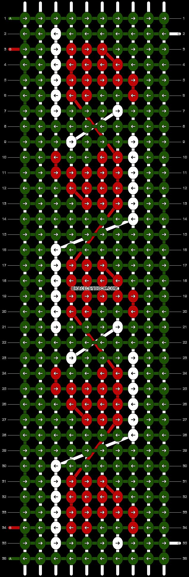 Alpha pattern #16370 pattern