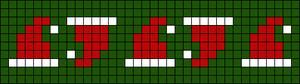 Alpha Friendship Bracelet Pattern #16370