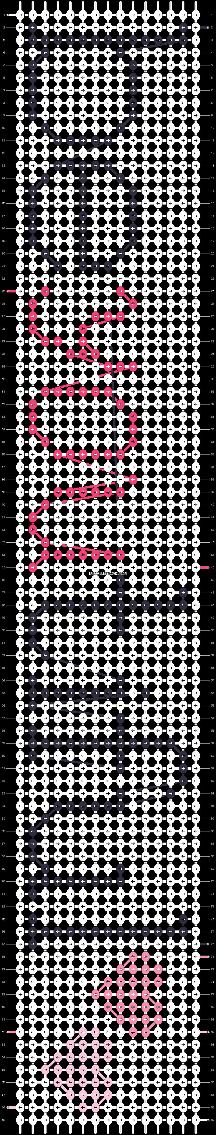Alpha pattern #16386 pattern