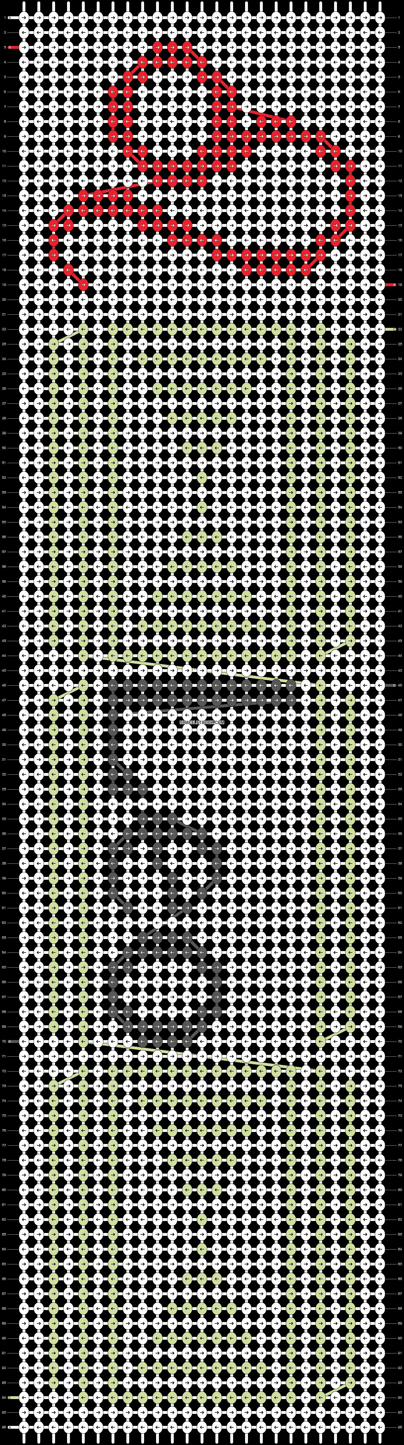 Alpha pattern #16407 pattern