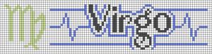 Alpha Friendship Bracelet Pattern #16408