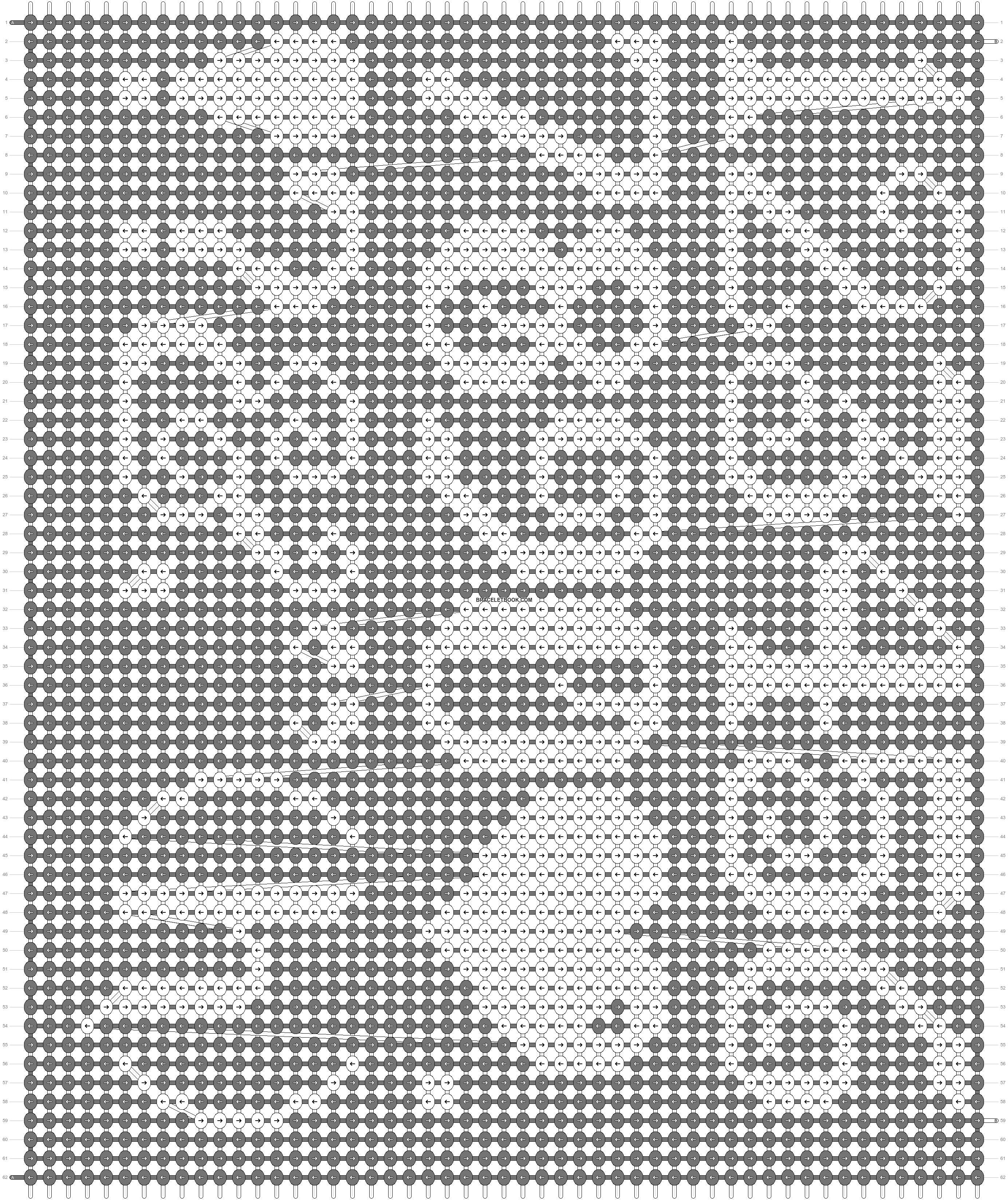 Alpha pattern #16422 pattern