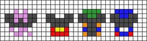 Alpha pattern #16450