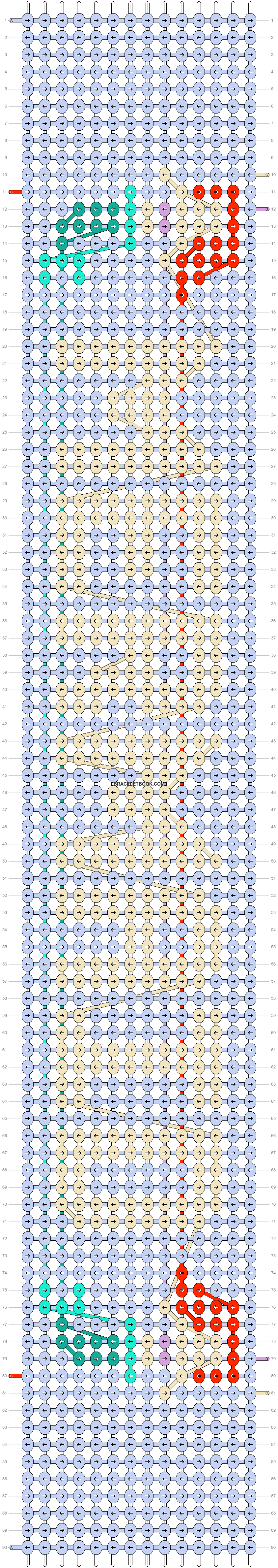 Alpha pattern #16460 pattern