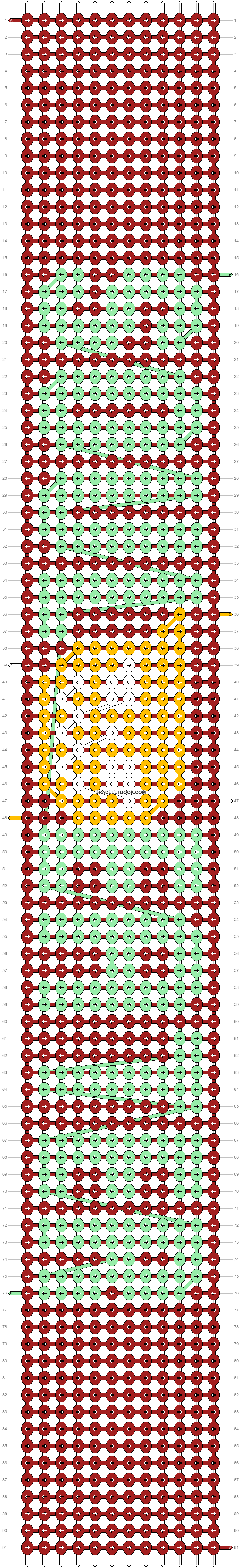 Alpha pattern #16462 pattern
