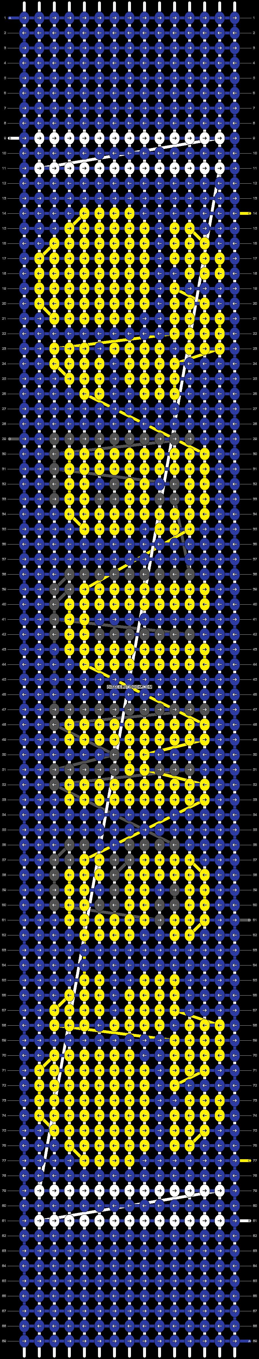 Alpha pattern #16463 pattern