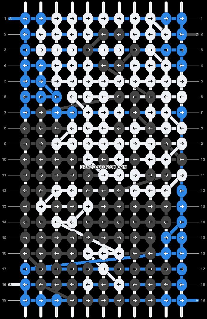 Alpha pattern #16464 pattern