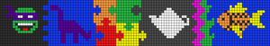 Alpha Friendship Bracelet Pattern #16472