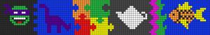 Alpha pattern #16472