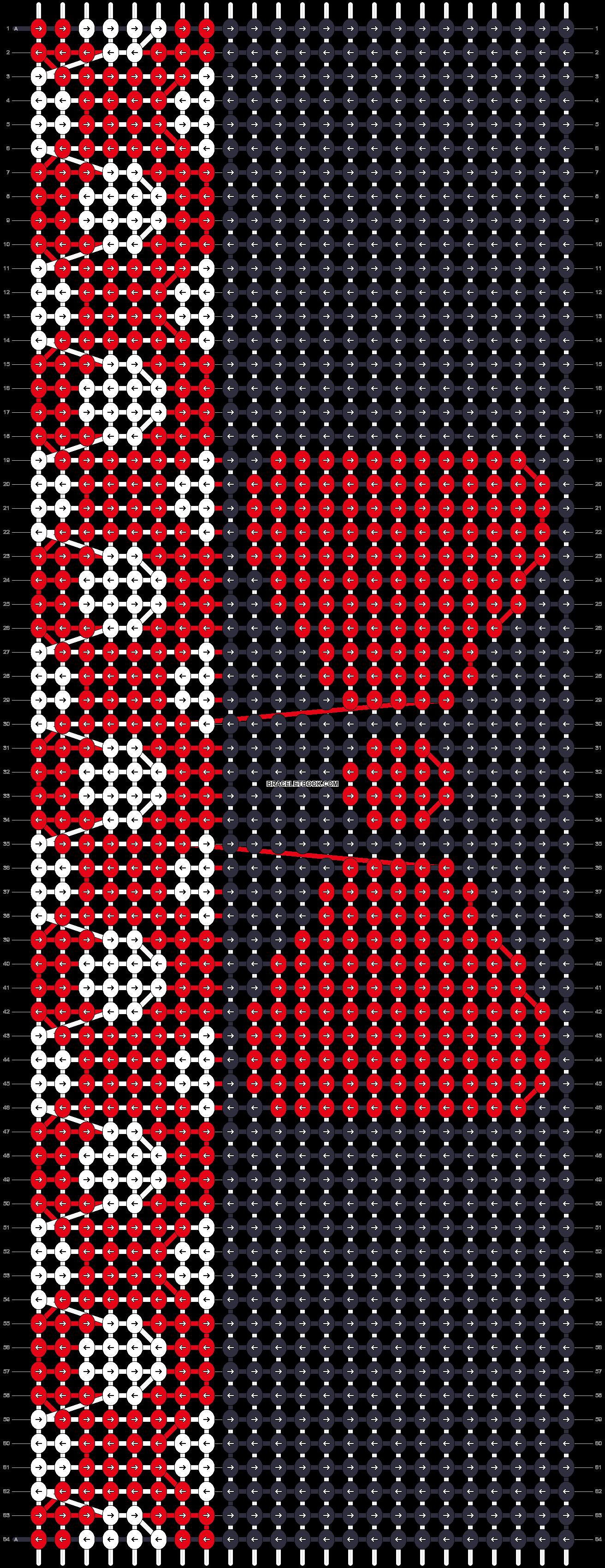 Alpha pattern #16481 pattern