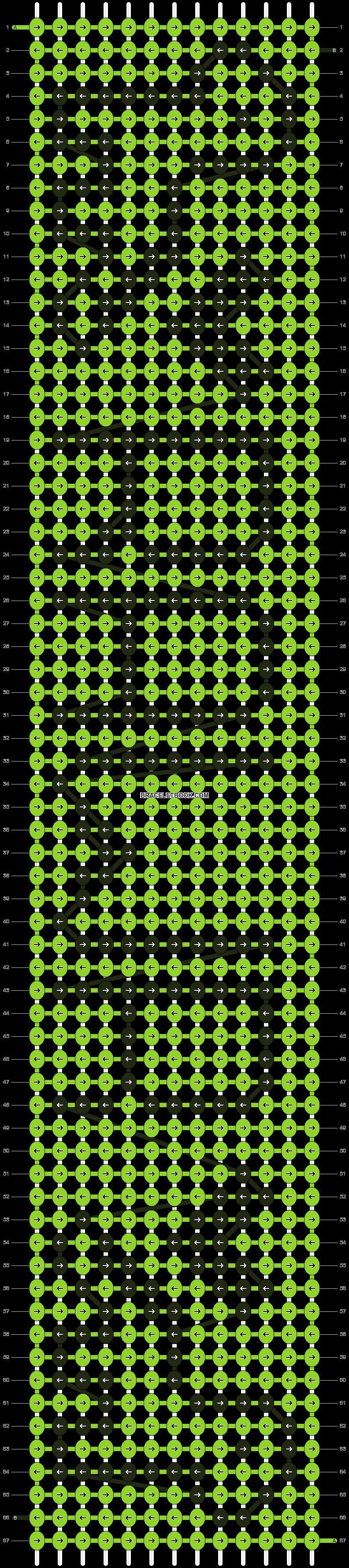 Alpha pattern #16485 pattern