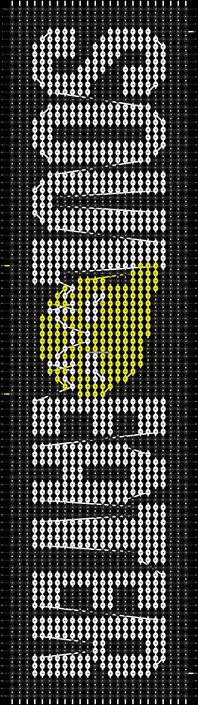 Alpha pattern #16486 pattern