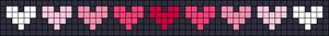 Alpha Friendship Bracelet Pattern #16494