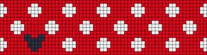 Alpha Friendship Bracelet Pattern #16500