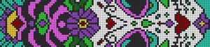 Alpha Friendship Bracelet Pattern #16504