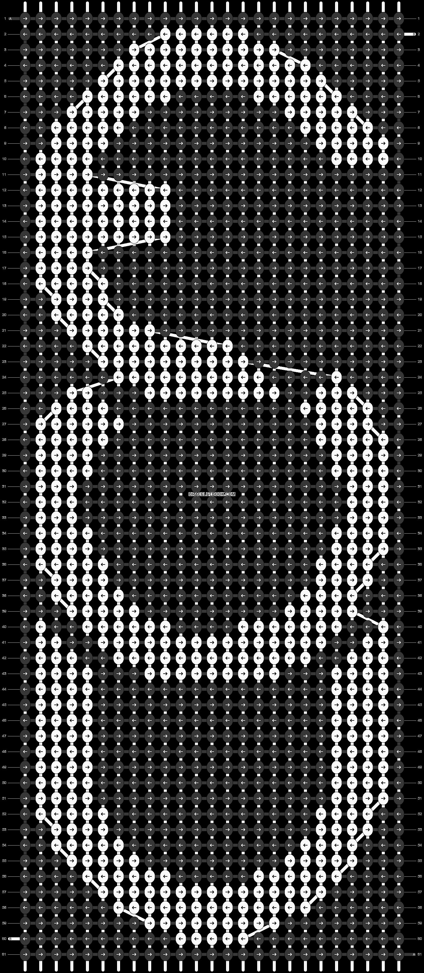 Alpha pattern #16510 pattern