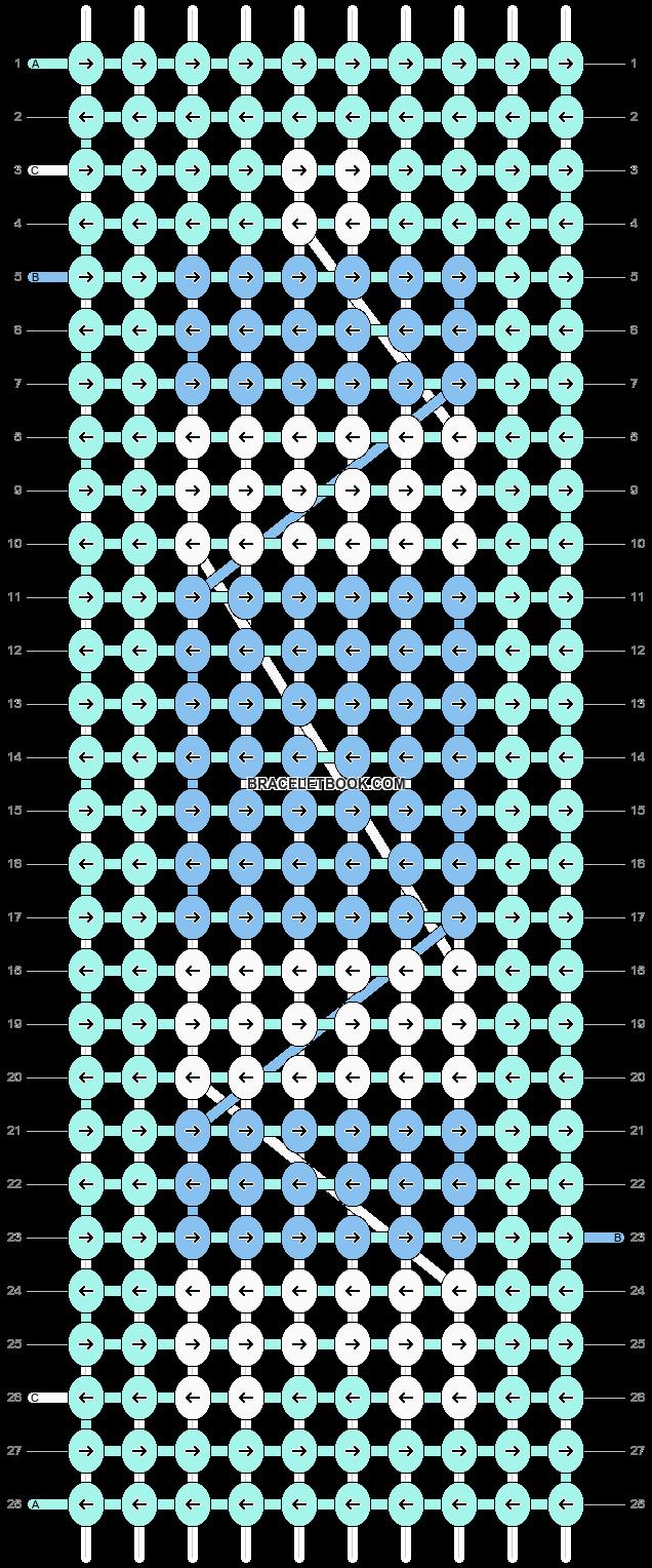 Alpha pattern #16511 pattern