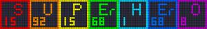 Alpha pattern #16514