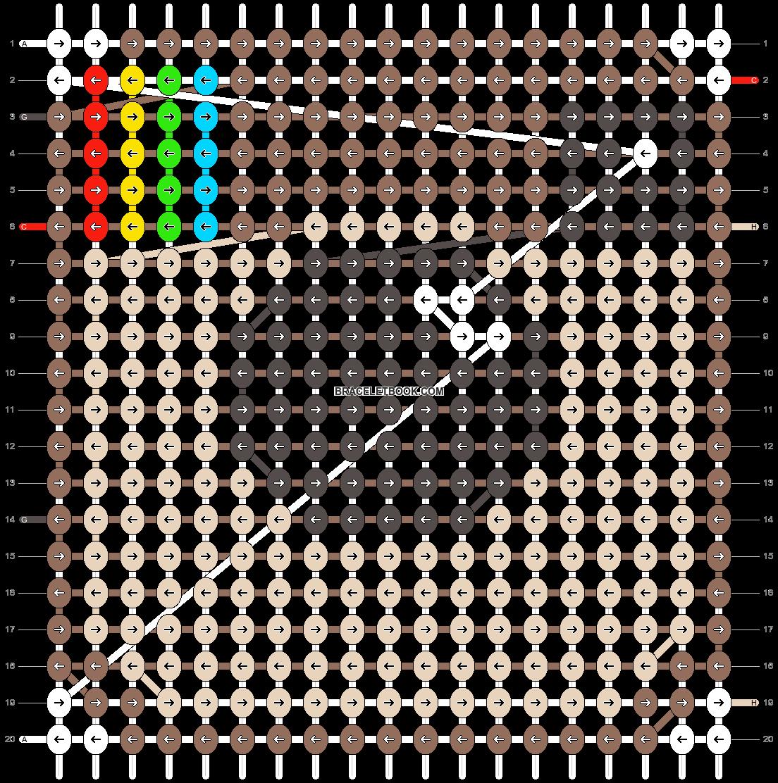 Alpha pattern #16516 pattern
