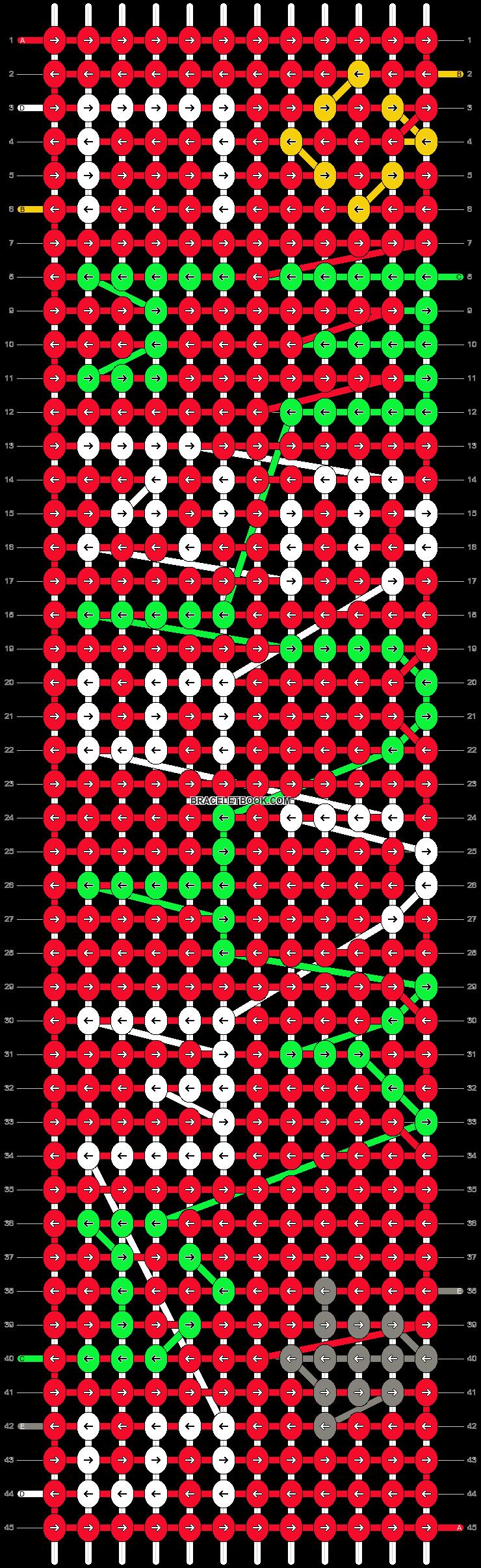 Alpha pattern #16531 pattern