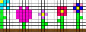 Alpha Friendship Bracelet Pattern #16535
