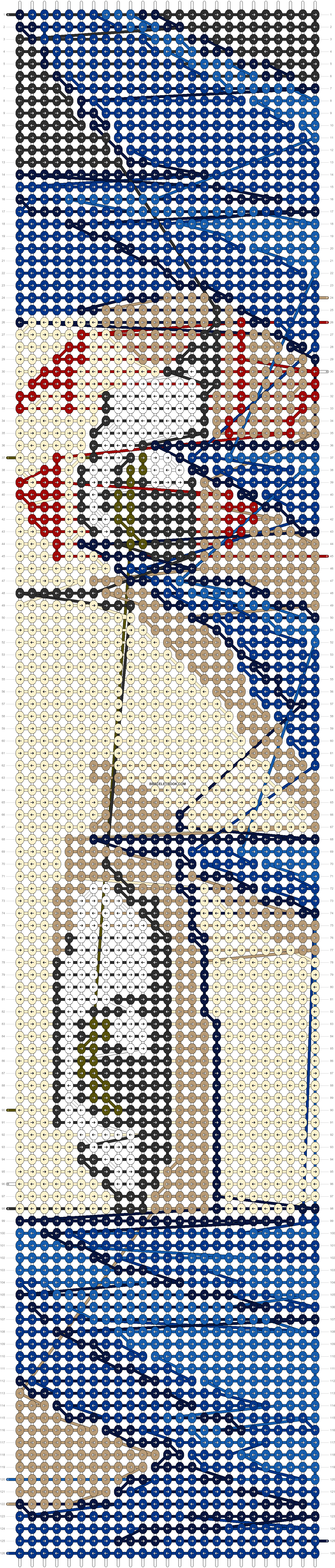Alpha pattern #16556 pattern