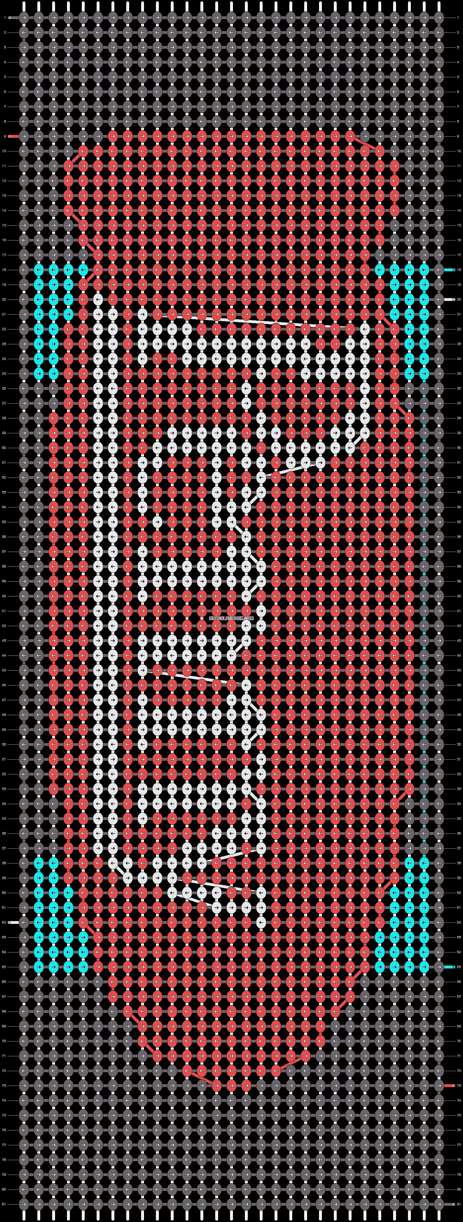 Alpha pattern #16580 pattern