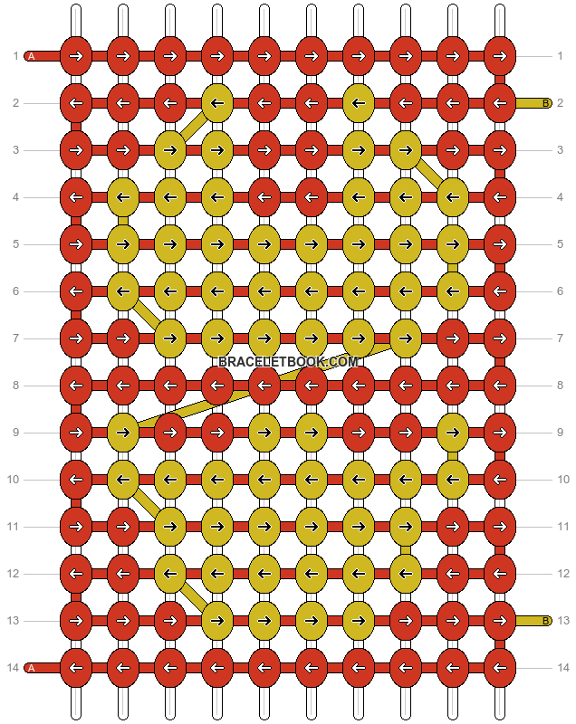 Alpha pattern #16596 pattern