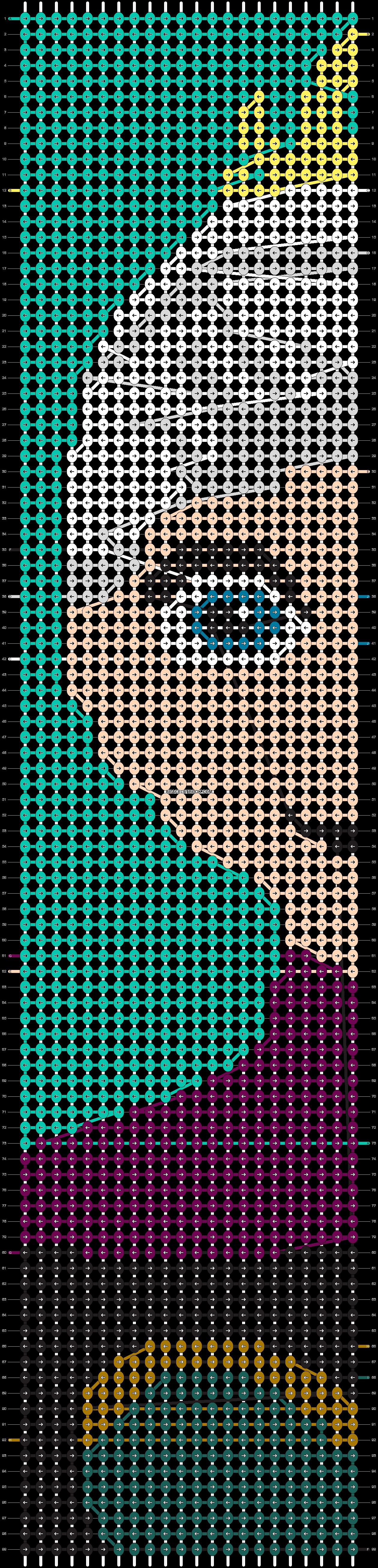 Alpha pattern #16597 pattern