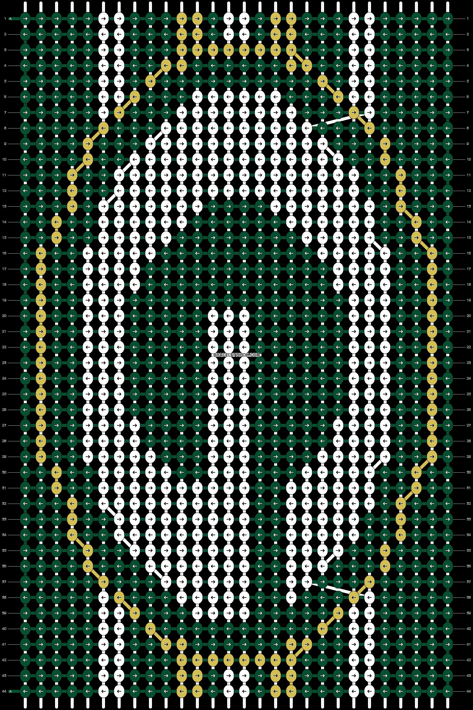 Alpha pattern #16619 pattern
