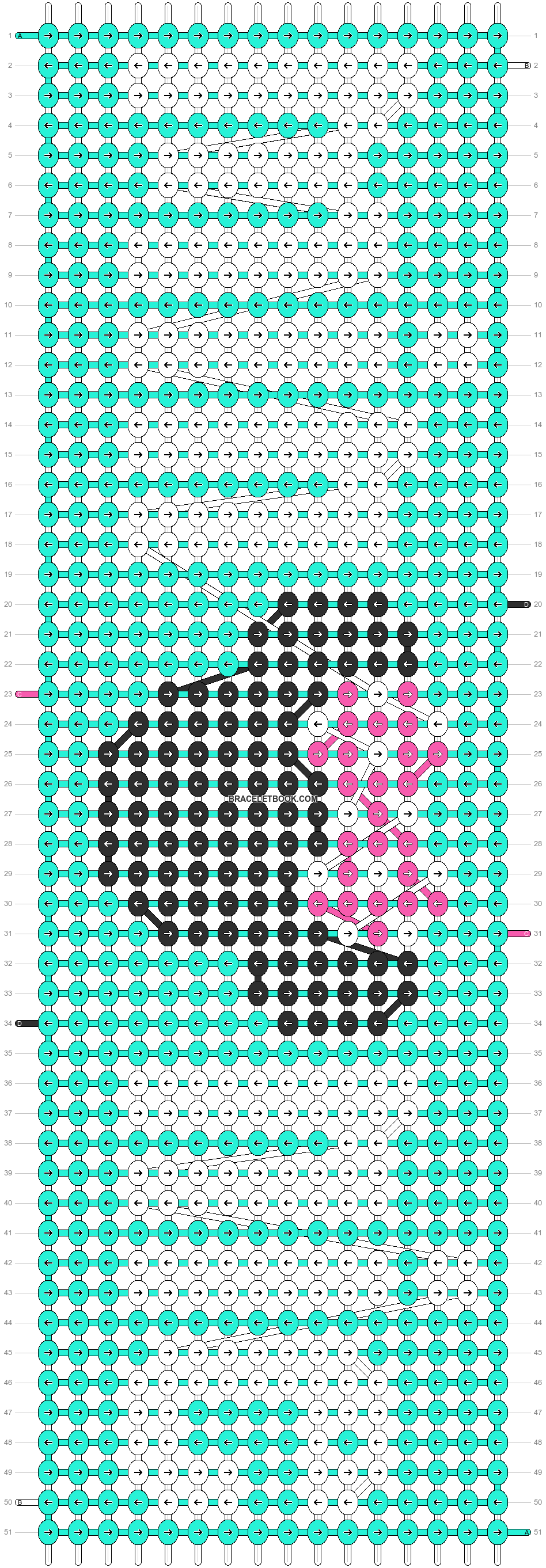 Alpha pattern #16620 pattern