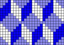 Alpha pattern #16640