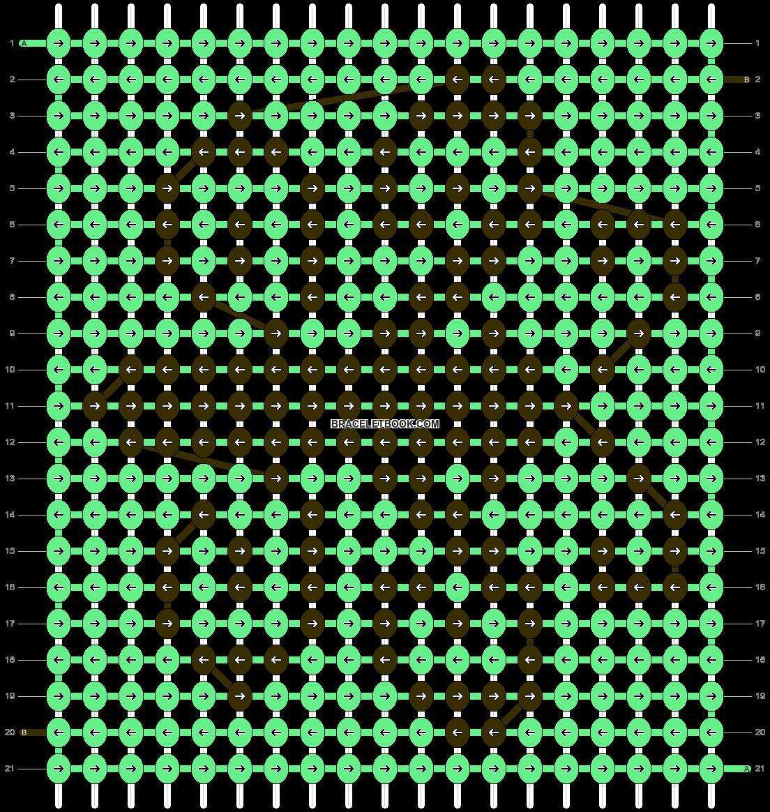 Alpha pattern #16658 pattern