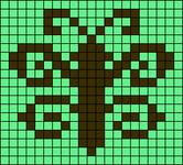 Alpha pattern #16658