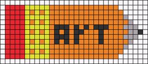 Alpha pattern #16659