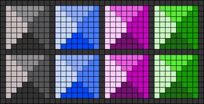 Alpha pattern #16661