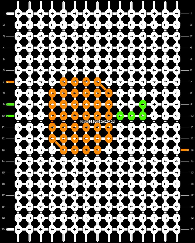 Alpha pattern #16665 pattern