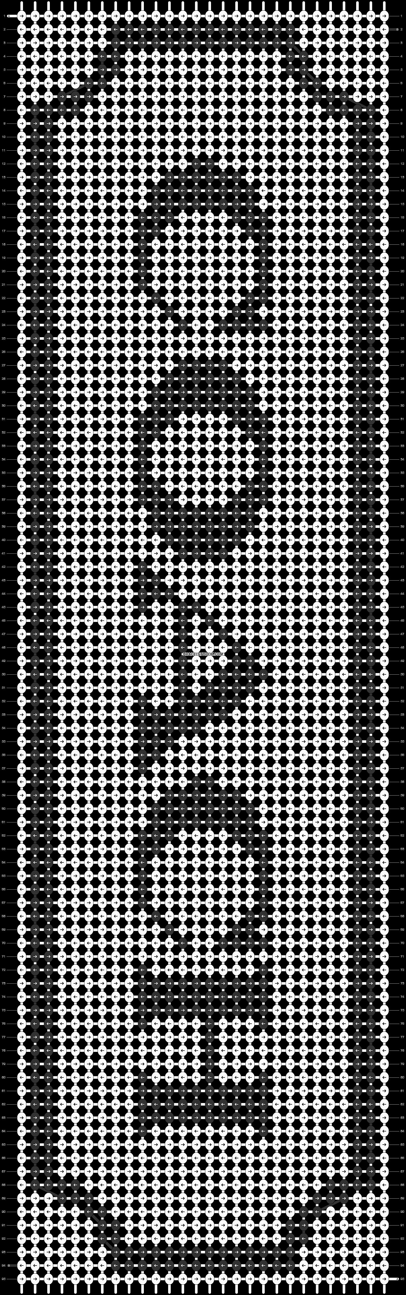 Alpha pattern #16674 pattern