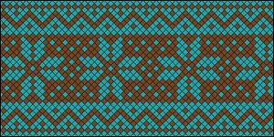 Normal Friendship Bracelet Pattern #16675