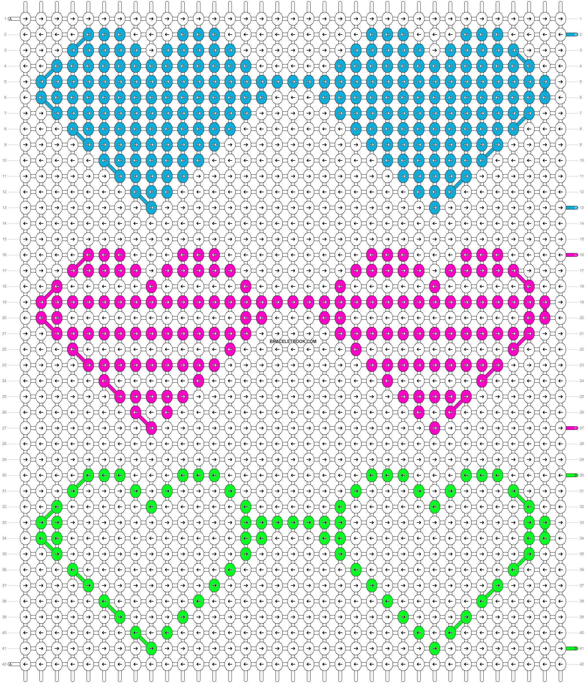 Alpha pattern #16677 pattern