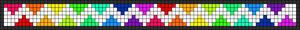 Alpha Friendship Bracelet Pattern #16680