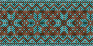 Normal Friendship Bracelet Pattern #16681